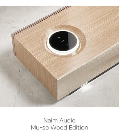 [공식수입사] Naim Mu-so Wood Edition